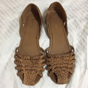 Huarache Woven Flats Coconuts by Matisse